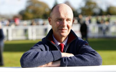 Luke Harvey hosts for a Naval Company at the Cheltenham Festival