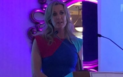 Chanelle Lady McCoy speaks at Network Mayo Awards in Ballina