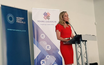 Chanelle McCoy provides Keynote at Young Leaders Conference