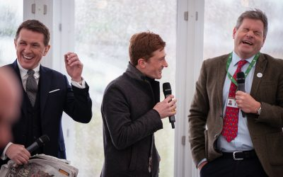 AP McCoy & Sam Twiston-Davies Appear in The Green Room