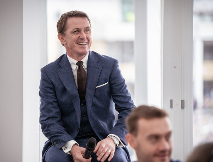 Sir Anthony McCoy signs 3 year extension with The Green Room