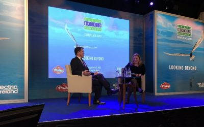 Sir Anthony McCoy speaks at Irish Hotel Federation Conference