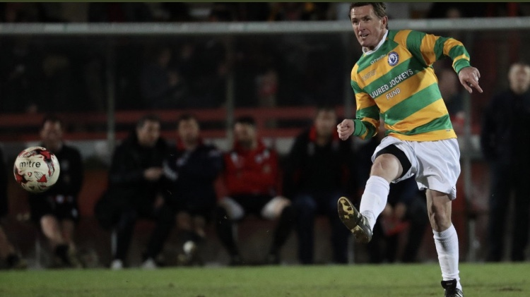Sir Anthony McCoy to Captain Charity Football Match