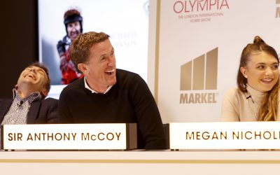 Sir AP McCoy Captains an 'Equestrian of Sport' panel