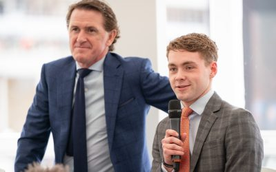 Sir AP McCoy & Jonjo Jr join Close Brothers at Cheltenham