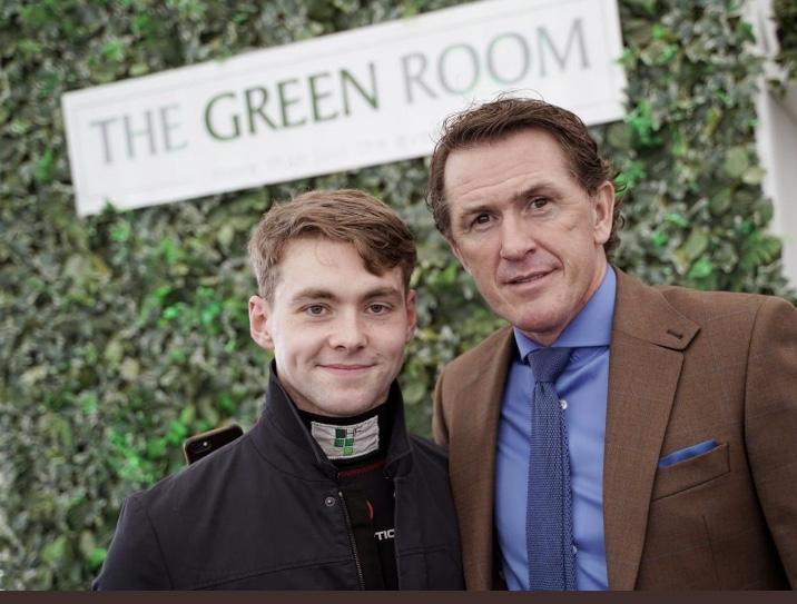 Sir AP & Jonjo Jr Entertain Guests in The Green Room