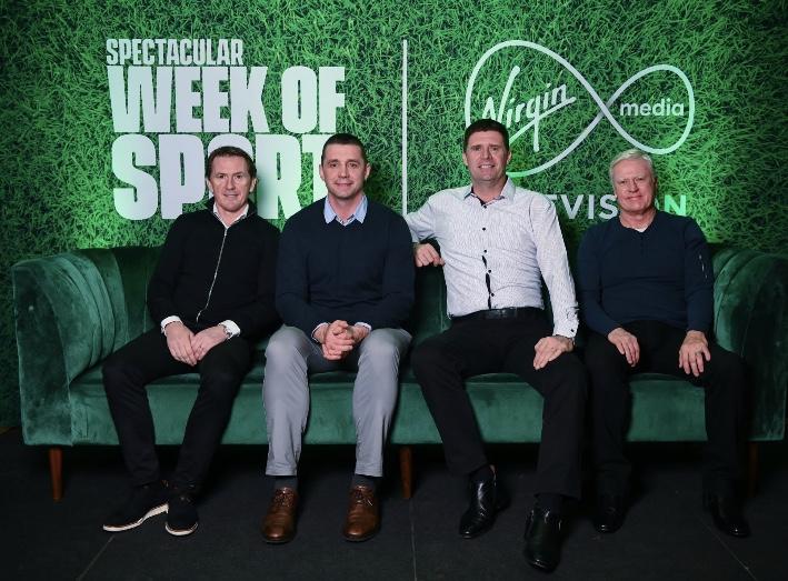 """AP McCoy speaks at Virgin Media """"Spectacular Week of Sport"""" event"""