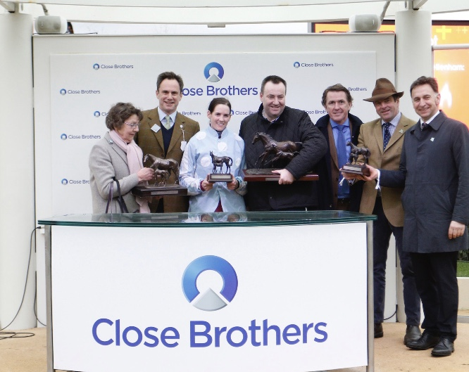 Sir Anthony McCoy presents Close Brothers Trophy