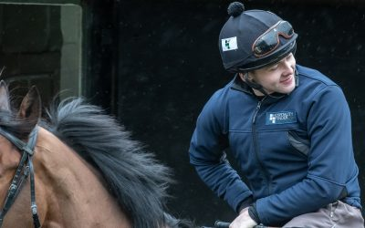 Jonjo O'Neill Jr extends his Breeches Sponsorship with HF