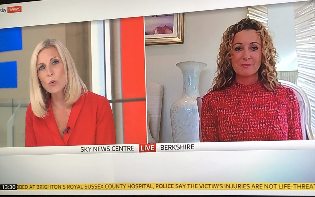 Chanelle, Lady McCoy appears on Sky News to discuss her CBD clinical trials