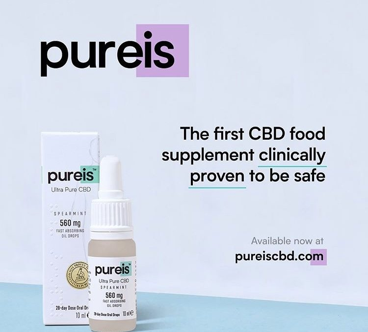 Chanelle McCoy launches new clinically proven CBD food supplement range