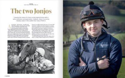 Jonjo O'Neill Jr. is main Feature Interview for Kalendar Magazine