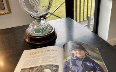 Jonjo O'Neill Jr. featured in a major National Press & Magazines