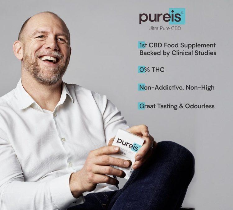 """Mike Tindall becomes an Ambassador for CBD brand """"Pureis"""""""
