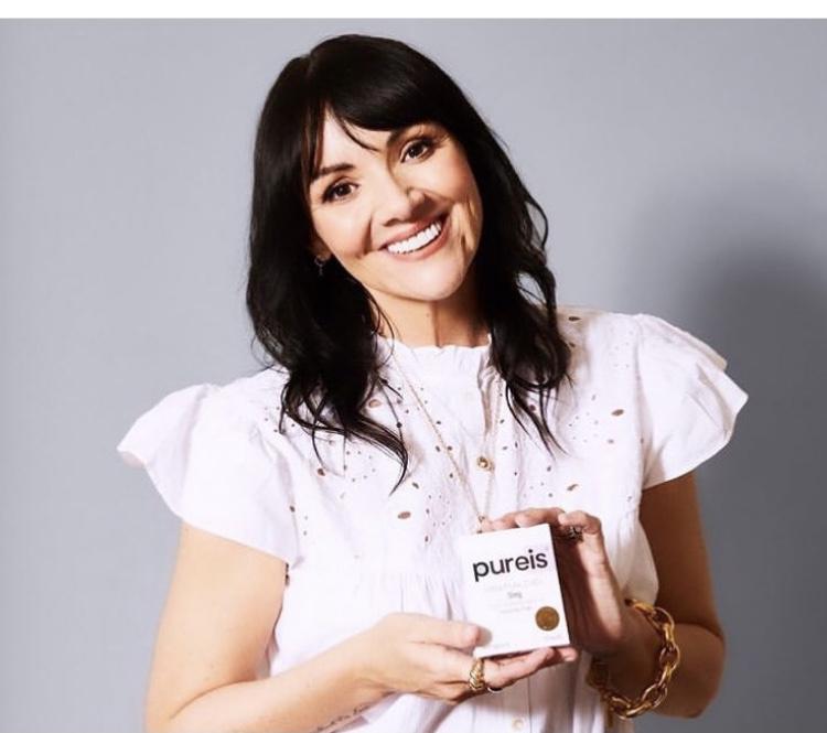 Martine McCutcheon becomes a Friend of Pureis CBD