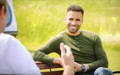 Hal Robson-Kanu joins Peter Crouch on his TV Euro's Show