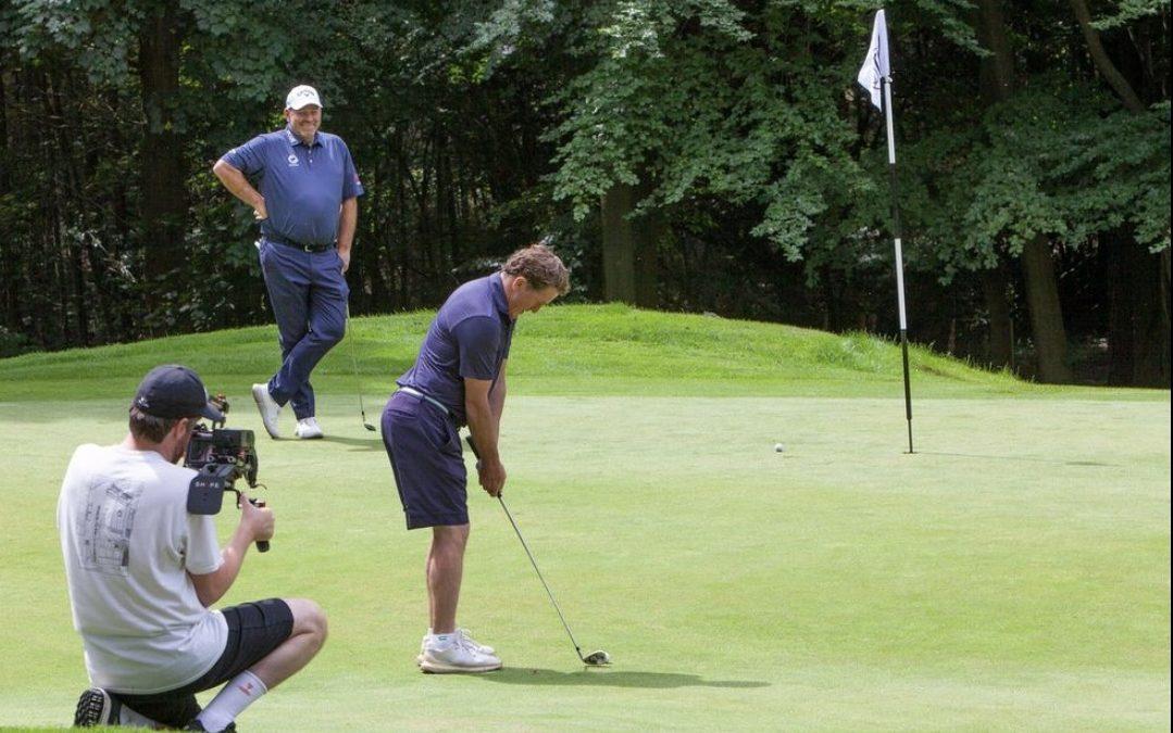 Sir AP McCoy previews Golf Majors with Thomas Bjorn