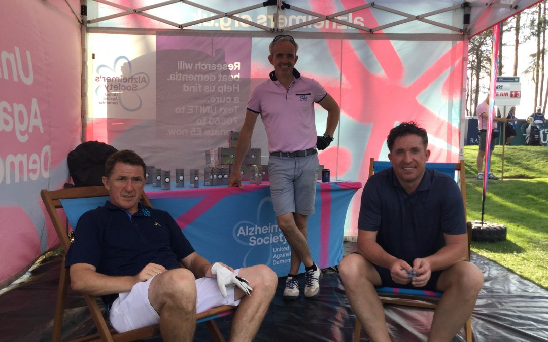Sir AP McCoy supports Alzheimer's Society at Wentworth
