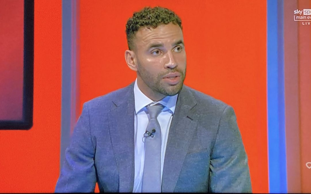Hal Robson-Kanu covers World Cup qualifier for Sky Sports