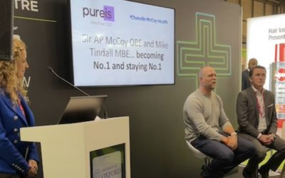Sir AP McCoy & Mike Tindall speak at The Pharmacy Show